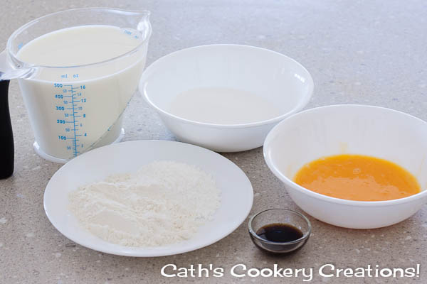 Crème Pâtissière (Pastry Cream) from Cath's Cookery Creations! | www.cathscookerycreations.com