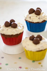 Malteser Cupcakes from Cath's Cookery Creations! | www.cathscookerycreations.com