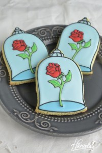 Haniela's Enchanted Rose - Tributes to Beauty and the Beast | www.cathscookerycreations.com