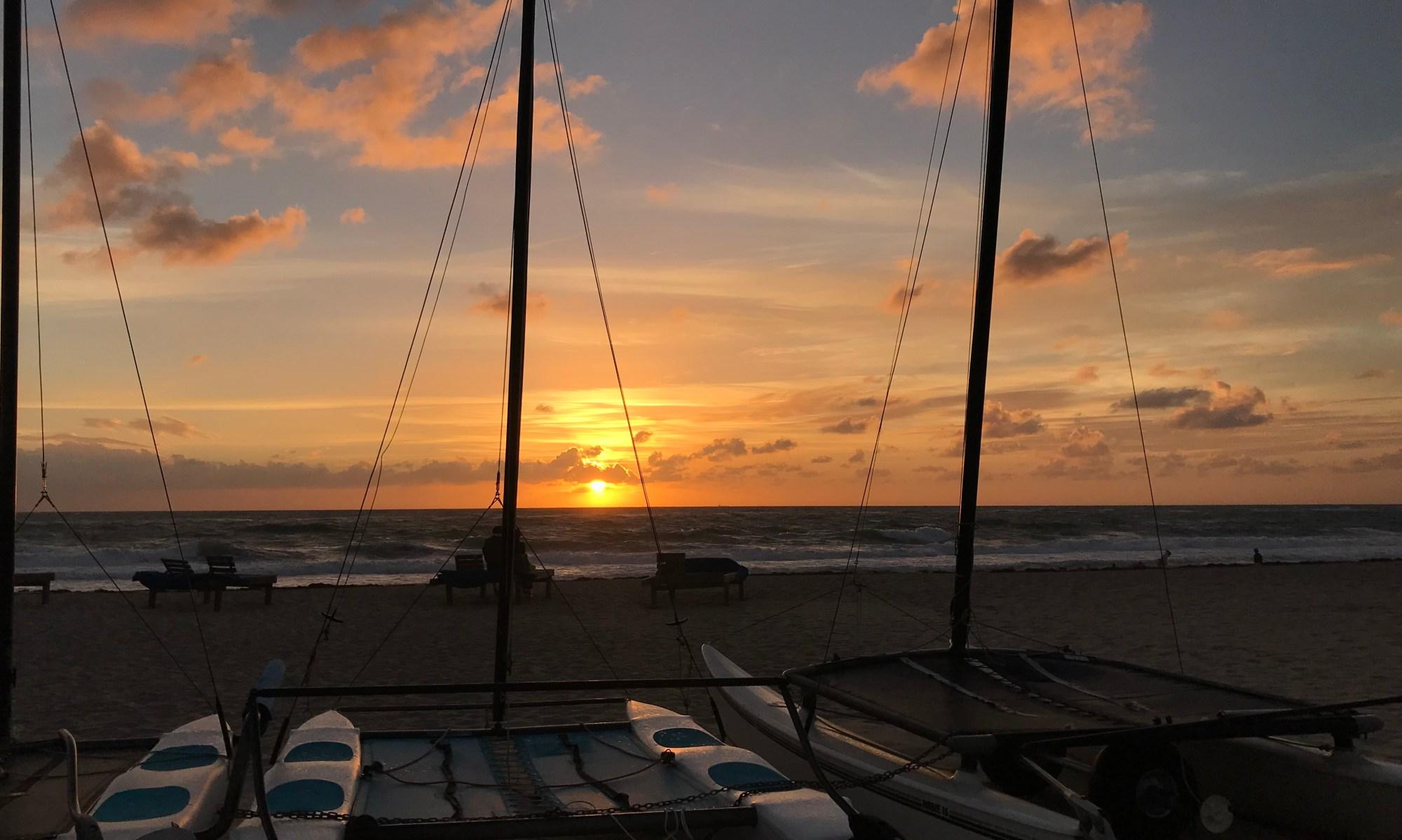 Quiet Morning Sun Rise