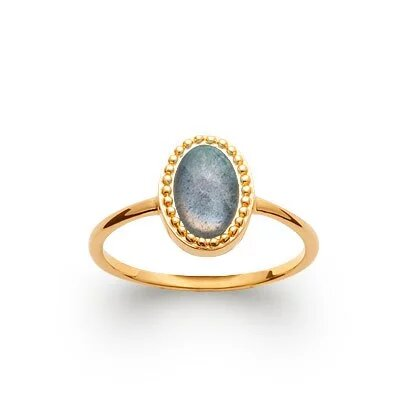 Bague Elsa Labradorite Or