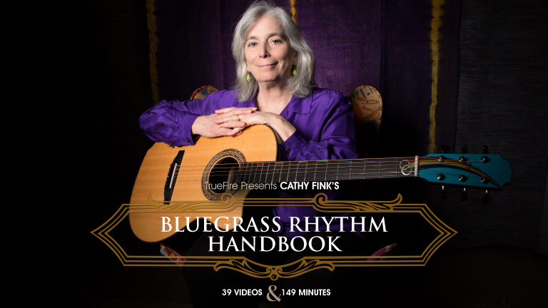Cathy Fink's Bluegrass Rhythm Handbook (Data Disk with Video, Audio  Practice Tracks, Tab & Guitar Pro) - Cathy Fink & Marcy Marxer