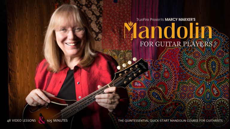 Marcy Marxer Mandolin for Guitar Players