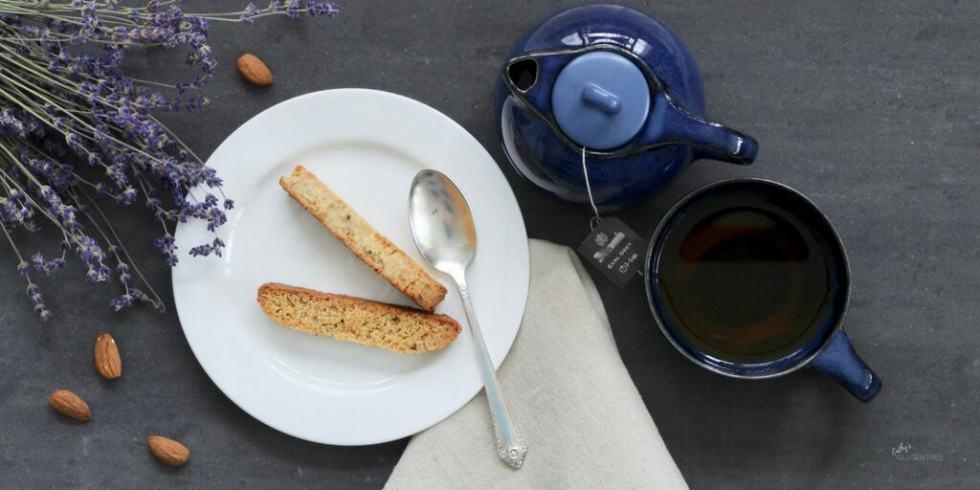 Gluten free Lavender Biscotti | Grain free | Dairy free