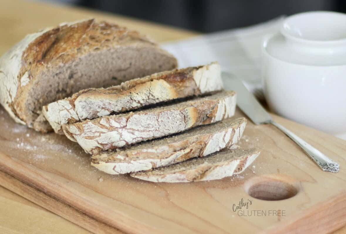 simple crusty artisanal gluten free bread