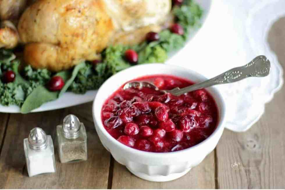 """The """"Usual"""" Cranberry Sauce CathysGlutenFree.com"""