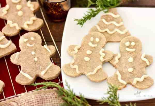Gluten Free Gingerbread Cookies | CathysGlutenFree.com