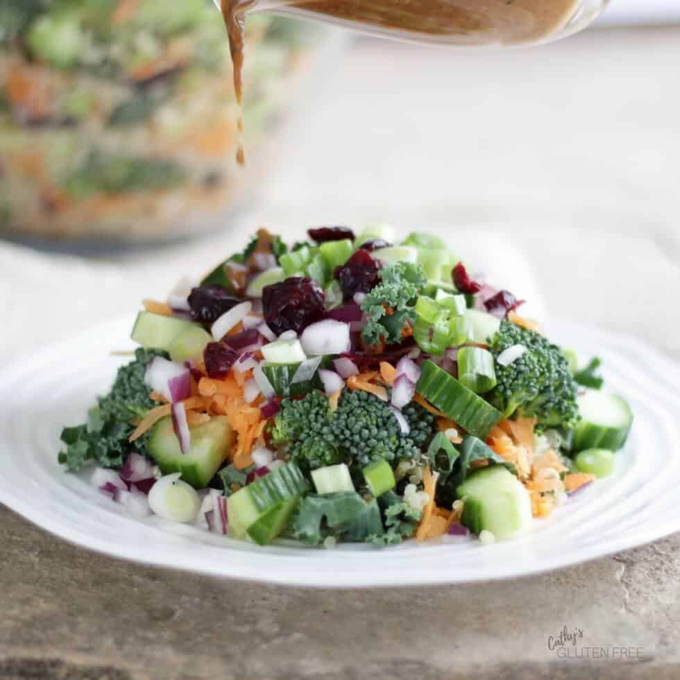 Garden Quinoa Salad, part of the Elimination Diet Meal Plan