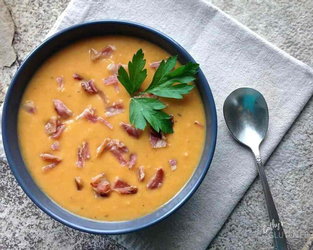 While this is a quick soup to make, it also lends itself well to making ahead and simmering or reheating to serve.
