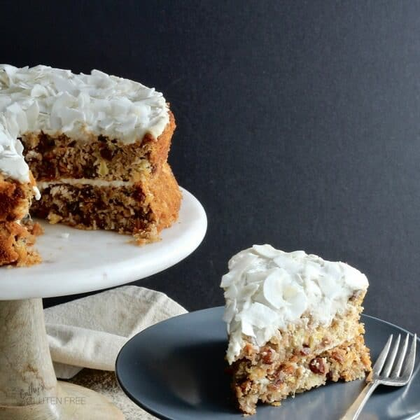 Carrot Cake Pineapple Coconut Flour