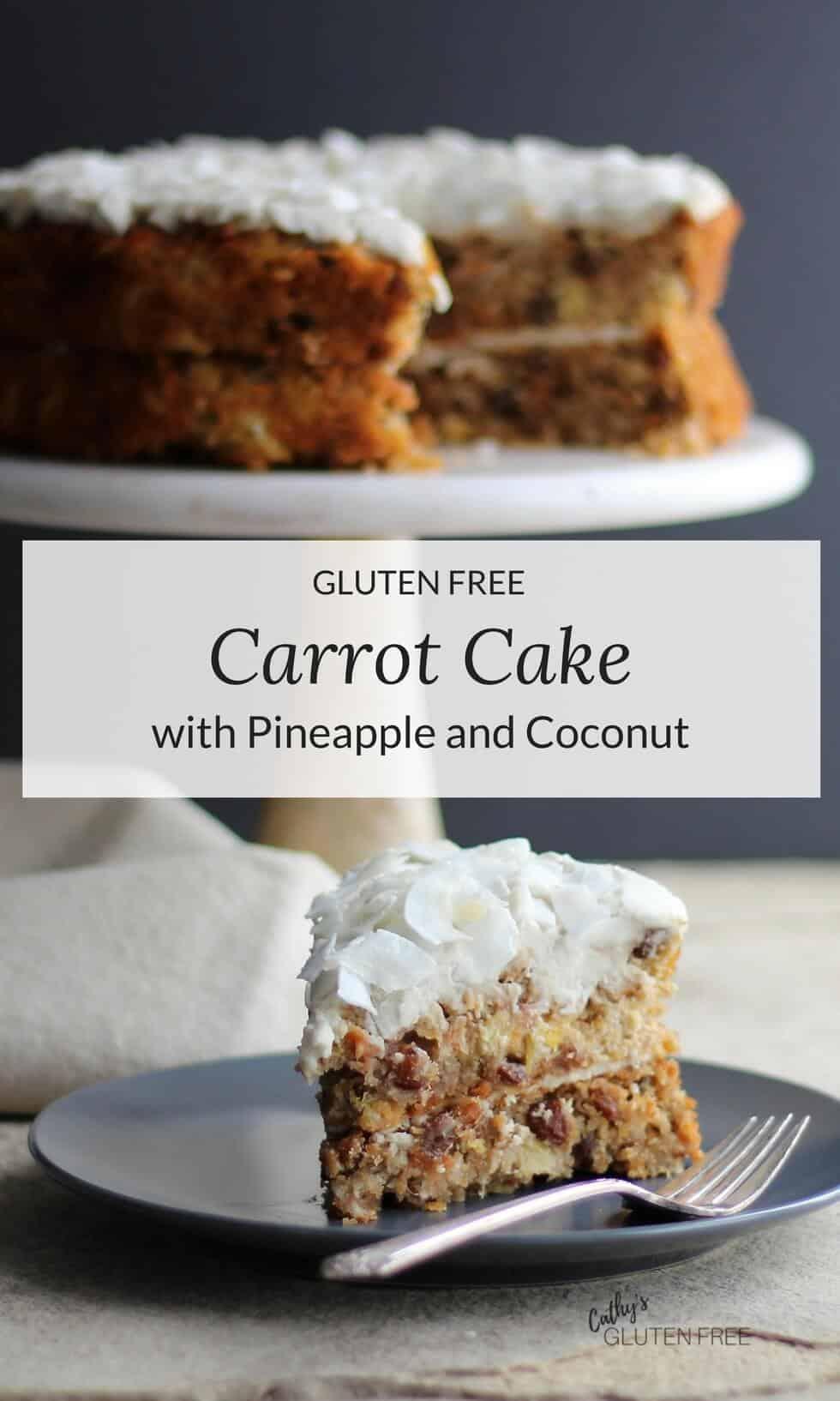 Sugar Free Grain Free Gluten Free Carrot Cake Recipe