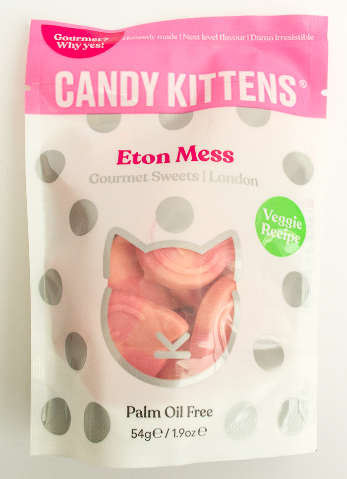 A bag of candy kittens