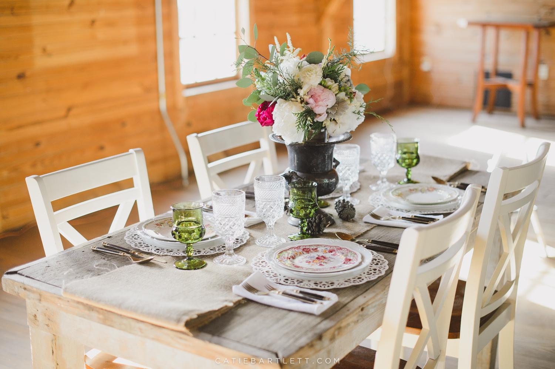 A Beautiful Rustic Winter Wedding Inspiration Shoot