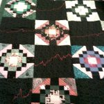 Wall Street Pattern Quilt - SAMPLE