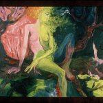 The Chameleon, Oil on canvas