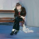 The Puppet Man of Seattle, Oil on canvas