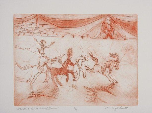 Wanda and her Wind Horses