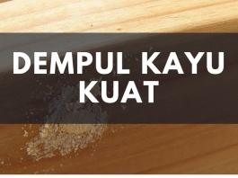 Mengenal Dempul Kayu Yang Kuat Di Indonesia