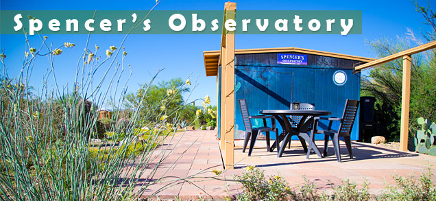 Spencer's Observatory at Cat Mountain Lodge Bed & Breakfast, Tucson, Arizona