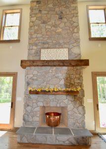 custom fireplace remodel