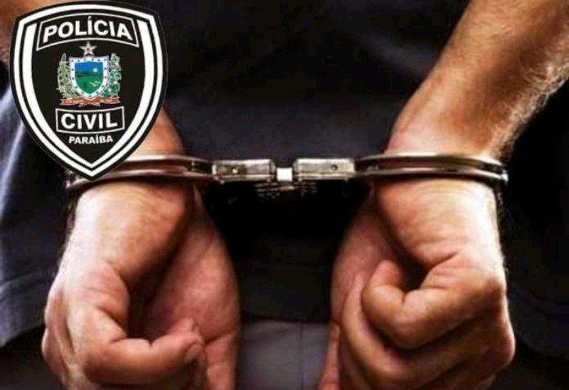 policia civil de sao bento pb prende homem acusado de praticar crime em 1997