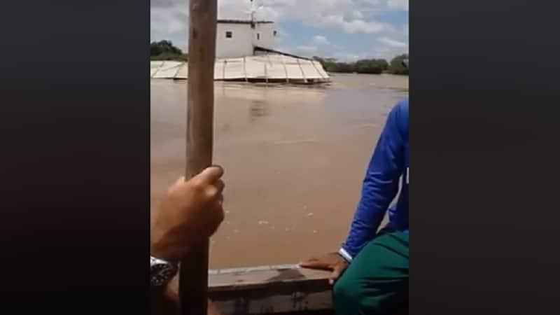 nivel do rio piranhas sobe bastante depois de fortes chuvas no sertao