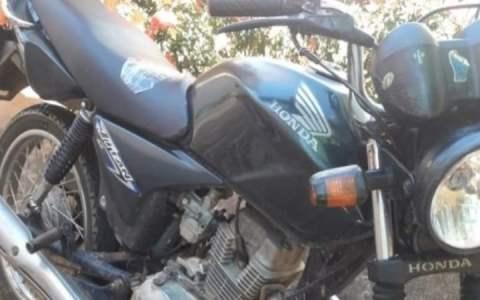 policia militar recupera moto roubado em bom sucesso pb