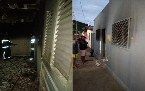 casa e alvejada a tiros e incendiada na cidade de joao dias rn