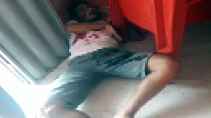 homem e morto e idosa fica baleada em troca de tiros no sertao da paraiba