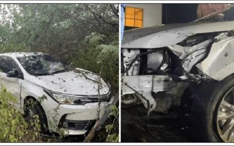 cantor batista lima sofre acidente de carro com esposa no sertao do moxoto pe ele fala em video veja