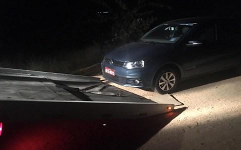 carro roubado e encontrado pela pm na cidade de jerico pb