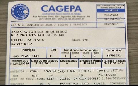 deputados aprovam projeto proibindo cagepa de cobrar taxa de religacao de agua