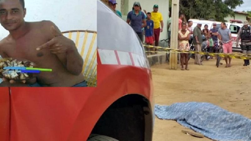 jovem de 27 anos a assassinado a tiros no sertao da paraiba