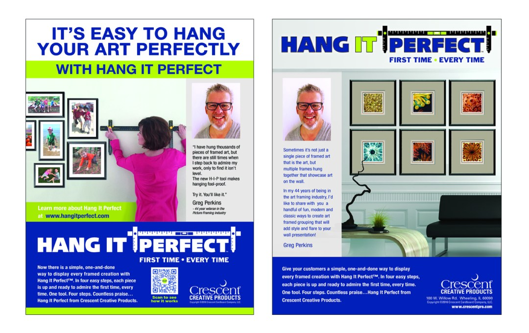 Hang It Perfect Packaging Catral Doyle Creative Co
