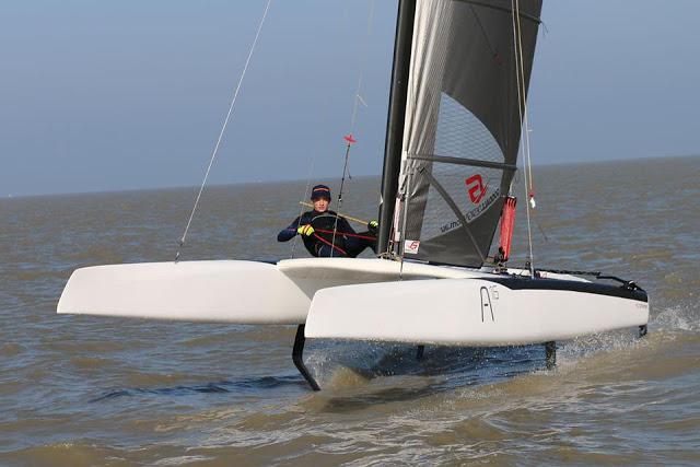 A-Class: New Goodall Design Decksweeper/Boomless Main – Catamaran