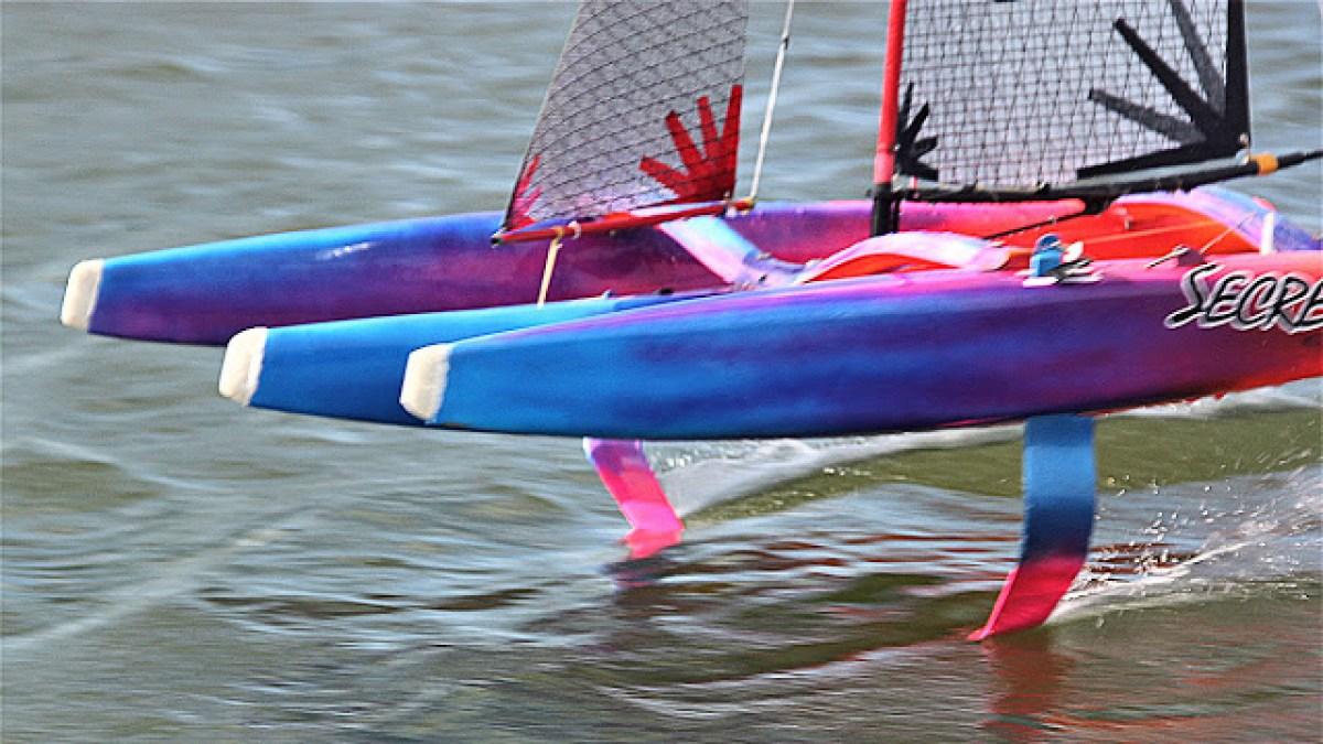 Foiling Mini 40s Trimarans update by Ian Holt – Catamaran