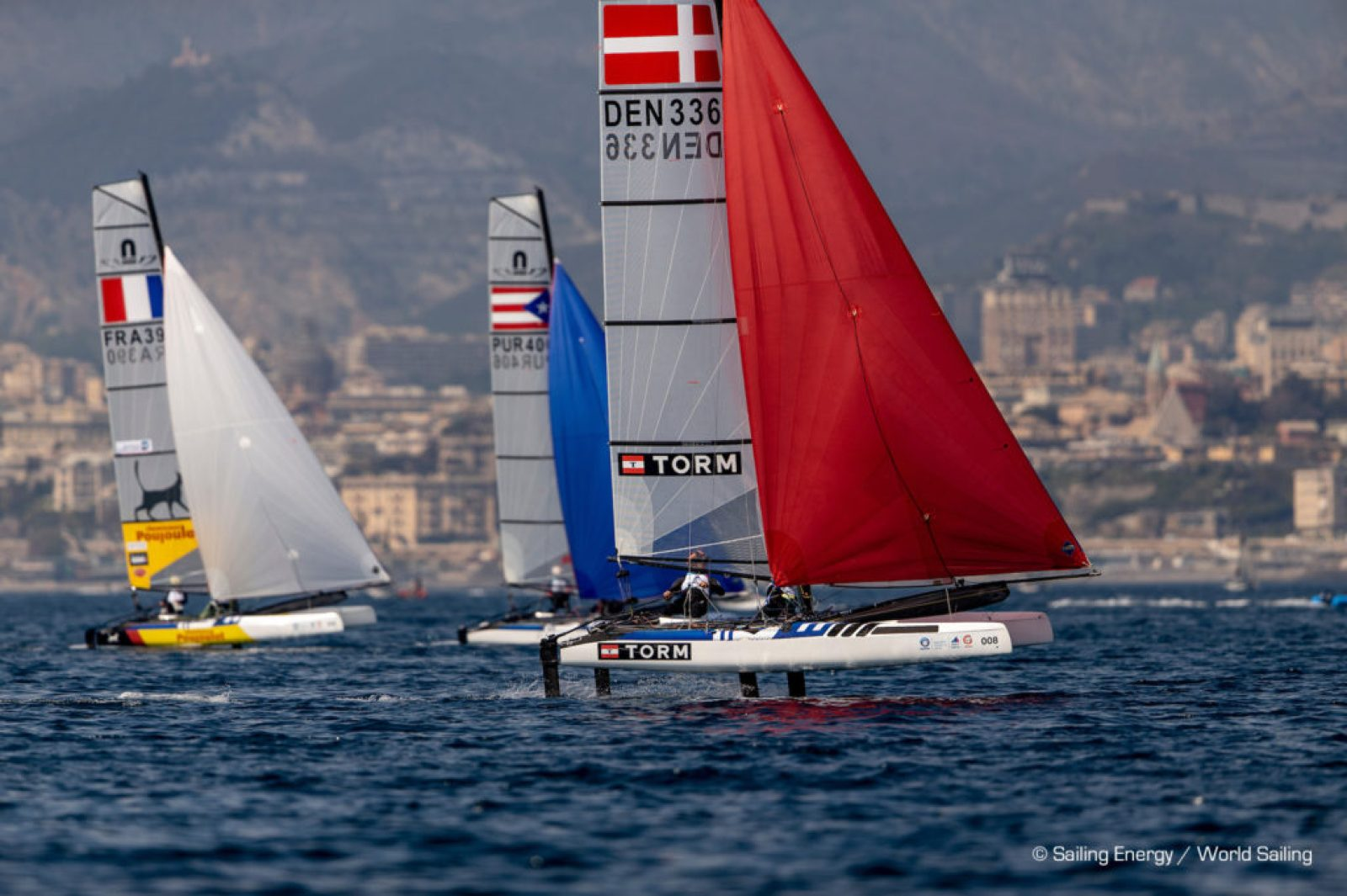 Nacra 17 WCup Series @Genoa 2019: Day 4 Results – Catamaran