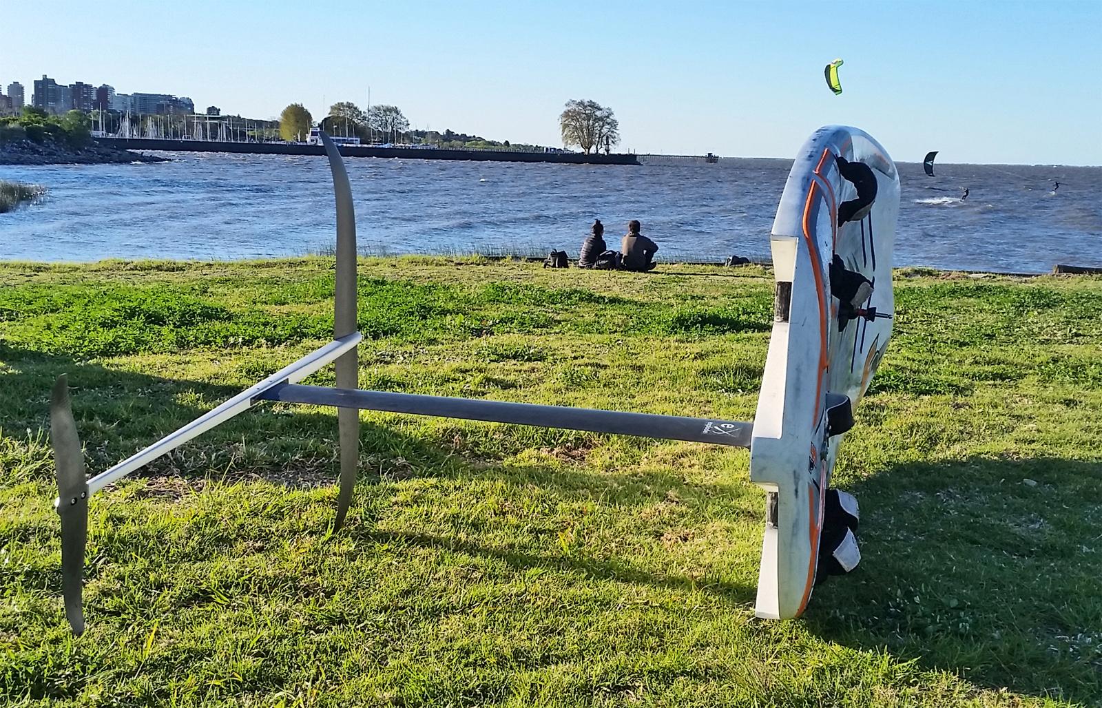 Windsurf Foil Easy Flights Catamaran Racing News Design