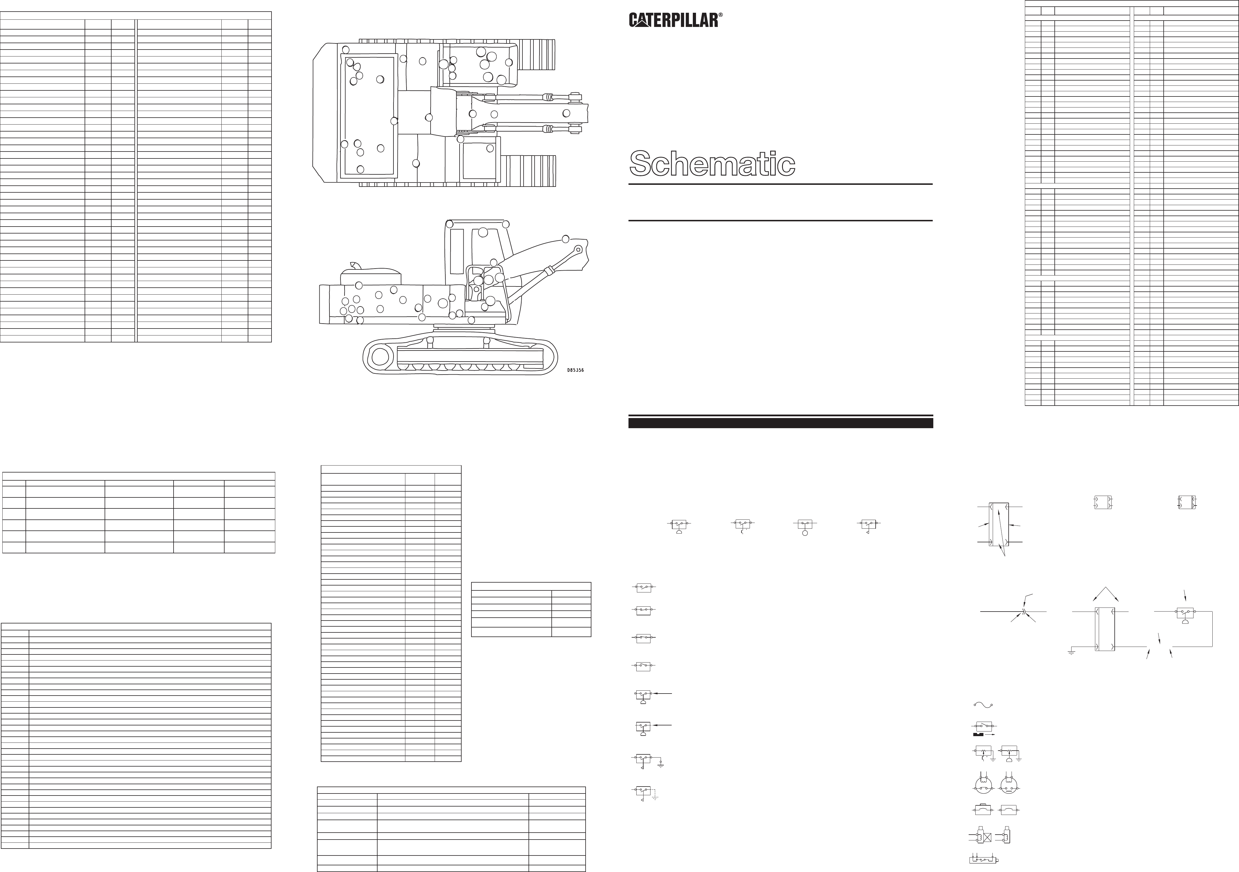 330b Forest Machine Electrical Schematic Used In Service