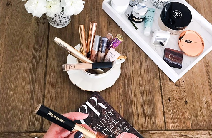 How I Manage my Under Eye Dark Circles   YSL All Hours Concealer review and swatches