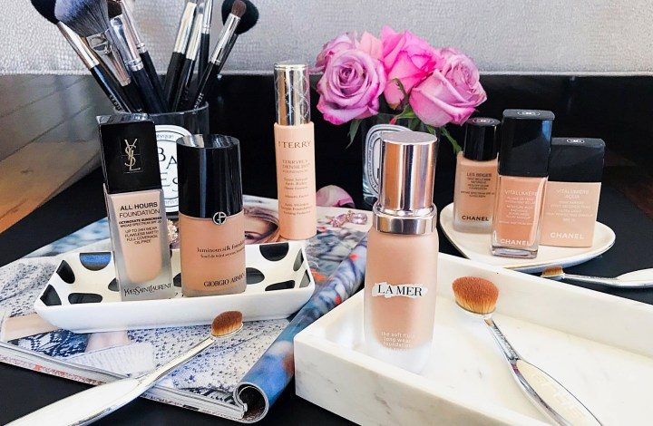 Foundation Files | ft. La Mer, By Terry, YSL, Armani and Chanel