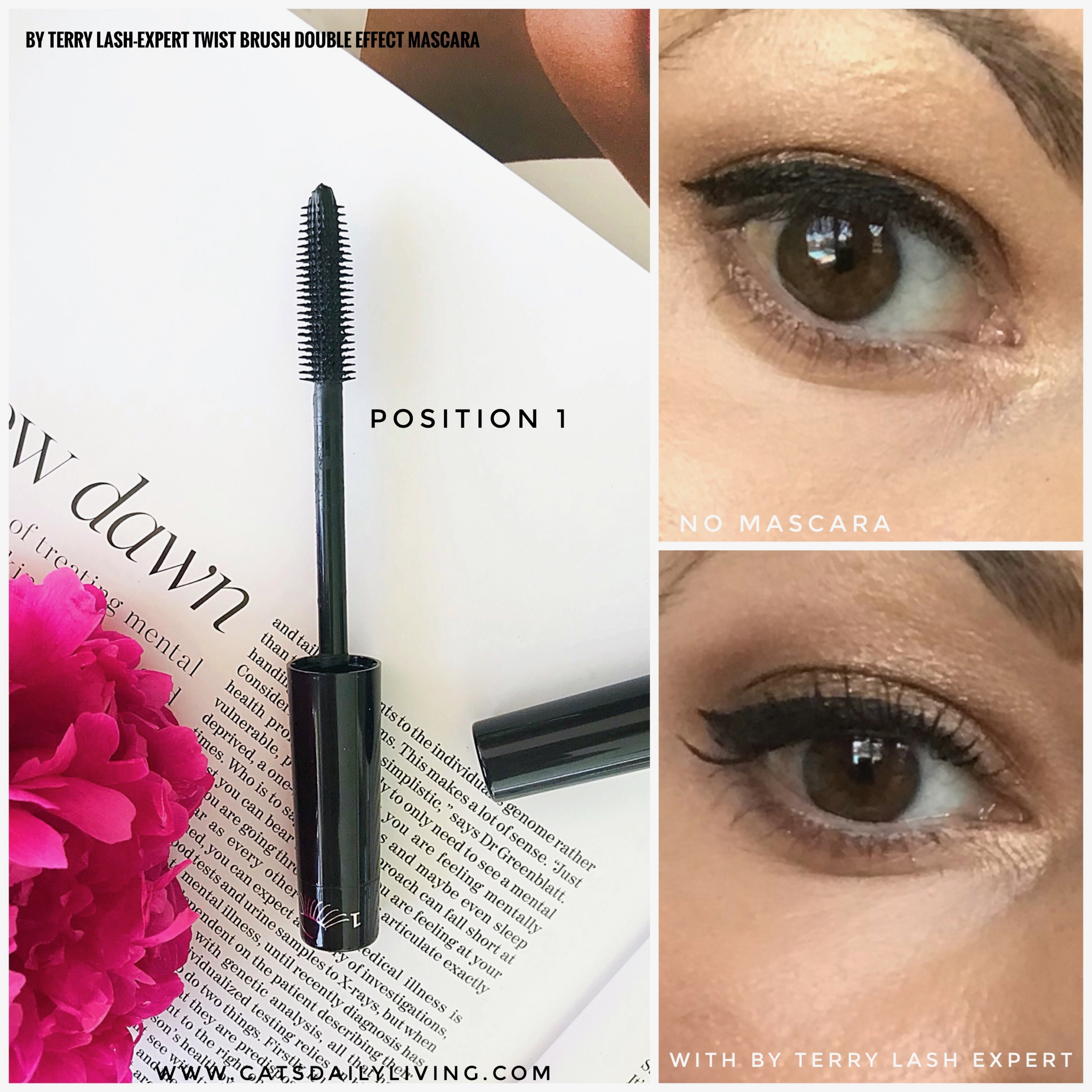 By Terry Lash Expert Twist Brush Double Effect Mascara Cats Daily