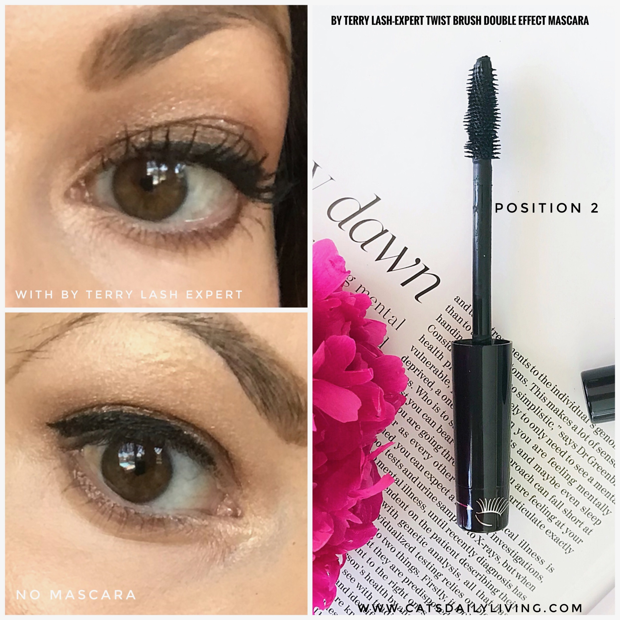By Terry Lash-Expert Twist Brush Double Effect Mascara - Cat's Daily