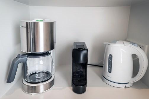 filter coffee, Nespresso or tea?