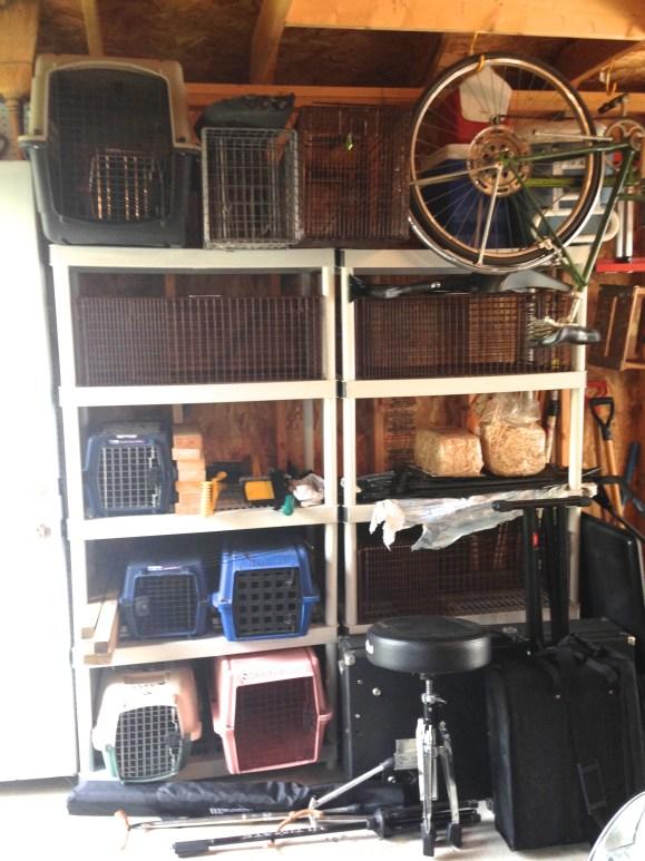 Garage TNR supplies