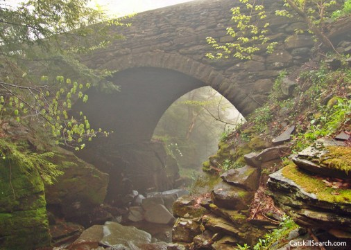Devils Kitchen Stone Bridge