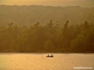 Rowboat in North Lake