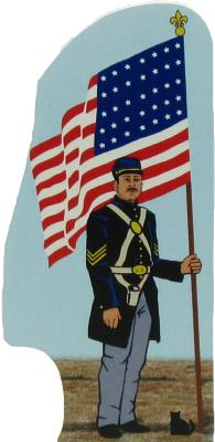 Civil War Union Flag The Cats Meow Village