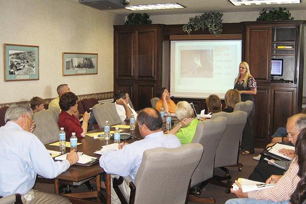 A city council meeting regarding TNR.