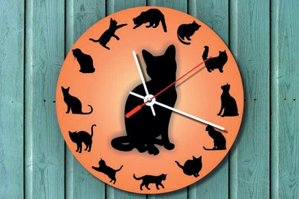 Birdsland wall clock.